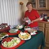 2010 Christmas : Our 2010 Christmas included two family gatherings.  A special cookbook themed party at Mom's house and the annual Christmas Day breakfast at Danny & Pam's house.